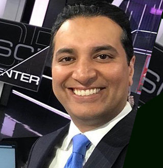 Kevin Negandhi ESPN, Age, Married, Wife, Salary, Bio, Ethnicity